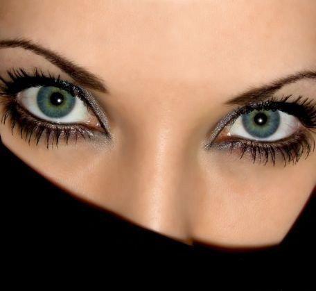 цвет глаз фото: